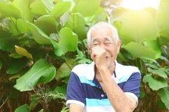 Asian senior man Royalty Free Stock Photography