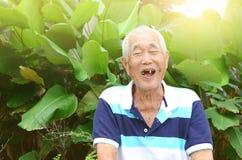 Asian senior man Royalty Free Stock Photo