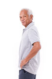 Portrait of asian senior old man Royalty Free Stock Photo