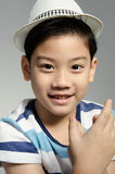 Portrait Of asian smile boy Royalty Free Stock Images