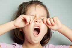 Portrait of asian sobbing girl. The portrait of asian sobbing girl Stock Photo
