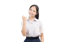 Portrait of an Asian student Royalty Free Stock Images
