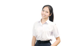 Portrait of an Asian student Royalty Free Stock Photography
