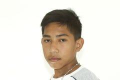 Portrait of asian teen Stock Image