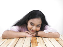 Portrait of an asian teenage girl Royalty Free Stock Images