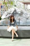 Portrait asian woman Stock Image