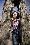 Portrait of an asian woman Stock Photo