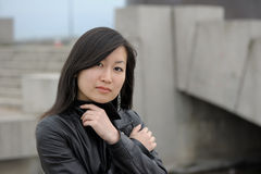 Portrait of asian woman Royalty Free Stock Photo