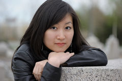 Portrait of asian woman Royalty Free Stock Images