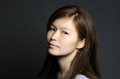 Portrait of asian woman Royalty Free Stock Image