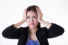 Portrait Asian woman royalty free stock photo