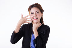 Portrait Asian woman Royalty Free Stock Images