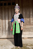 Portrait Asian woman Laos, Hmong Royalty Free Stock Photo