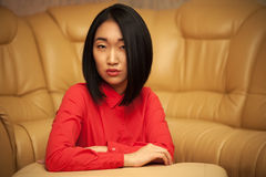 Portrait of asian woman Royalty Free Stock Photography