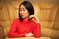 Portrait of asian woman Stock Photography