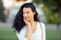 Portrait of asian woman Stock Image