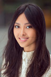 Portrait of asian woman Stock Images