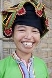 Portrait asian women Thai Dam, Laos Royalty Free Stock Photography