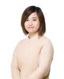 Portrait asiatique de femme photographie stock