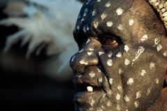 Portrait of the Asmat Stock Photography