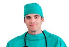 Portrait of an assertive surgeon Stock Photo