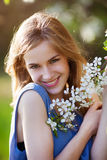 Portrait assez d'un blond Photo stock