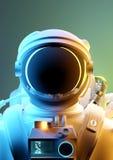 Portrait Of A Astronaut Space Man. Portrait of a astronaut ready to explore the unknown. 3D illustration
