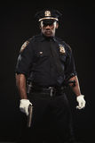 Portrait of an athletic african american man Royalty Free Stock Photo