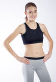 Portrait athletic girl Royalty Free Stock Photography