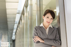 Portrait of attractive Asian business woman Stock Images