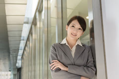 Portrait of attractive Asian business woman Stock Photos