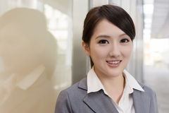 Portrait of attractive Asian business woman Royalty Free Stock Photo