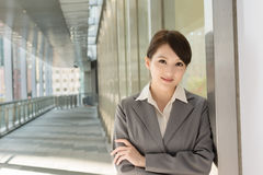 Portrait of attractive Asian business woman Stock Photography