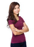 Portrait of attractive asian woman Royalty Free Stock Photo