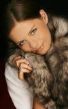 Portrait of attractive beautiful woman Stock Photo