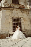 Portrait of attractive bride Royalty Free Stock Photography
