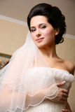 Portrait of an attractive bride Royalty Free Stock Photo