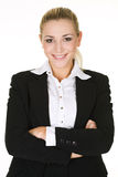 Portrait  attractive business woman Royalty Free Stock Image