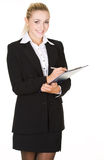 Portrait  attractive business woman Royalty Free Stock Photo