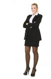 Portrait  attractive business woman Stock Image
