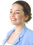Portrait of a attractive business woman. Royalty Free Stock Images