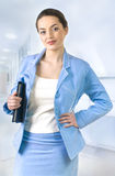 Portrait of attractive business woman. Stock Image