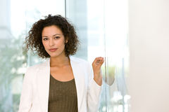 Portrait of attractive business woman Royalty Free Stock Photography