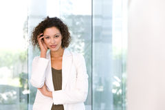 Portrait of attractive business woman Royalty Free Stock Photo