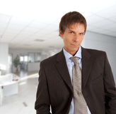 Portrait of an attractive businessman in office Stock Photography