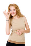 Portrait of attractive businesswoman Royalty Free Stock Photography