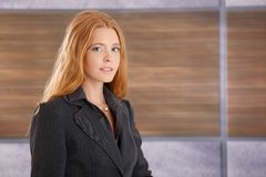 Portrait of attractive businesswoman Royalty Free Stock Image