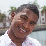 Portrait of an attractive caribbean guy Stock Photo