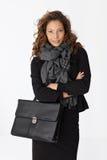 Portrait of attractive confident businesswoman Stock Image