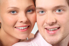 Portrait of attractive couple Royalty Free Stock Photo
